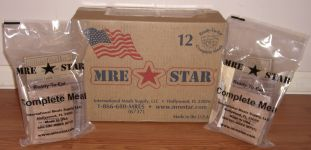 MRE Star Case and MREs