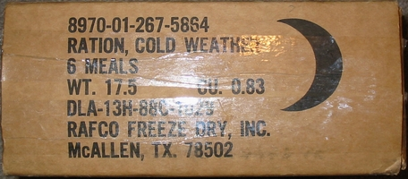 RCW, Ration Cold Weather Case