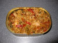 Dutch Miltary Ration, Rice Ratatouille with Chicken