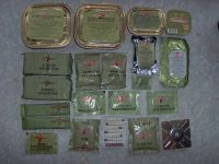 Russian ration contents - unlabelled