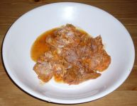 Spanish Ration A5 cooked pork in sauce
