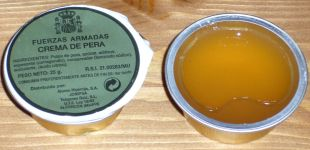 Spanish Ration A5 Pear Jelly/Paste