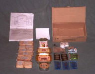 Russian 24-Hour Individual Food Ration Contents
