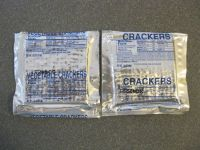 HDR Vegetable crackers and plain MRE crackers