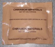 Front package of Eversafe Cinnamon Imperials (Red Hots)