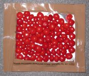 Back package of Eversafe Cinnamon Imperials (Red Hots)